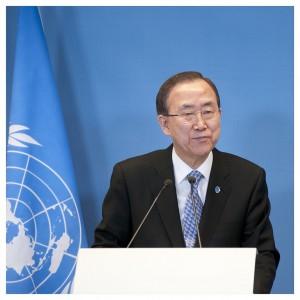 Ban Ki Moon, Secrétaire Général des Nations Unies