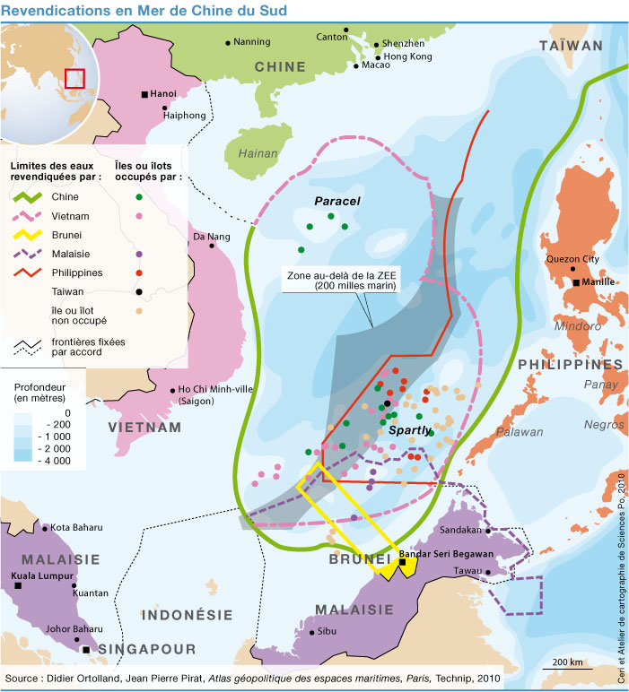 South China sea disputes