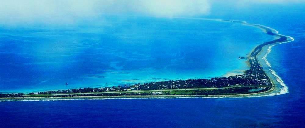 Tuvalu, un des petits États insulaires