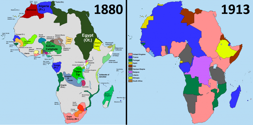 Scramble for Africa, 1880-1913. 3 Décembre 2014 (CC BY-SA 4.0)