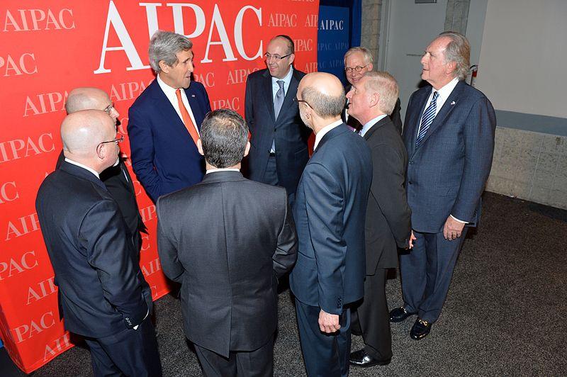 Le Secrétaire d'État des États-Unis, John Kerry, rencontre les leaders de AIPAC à une conférence au Washington Convention Center. 3 Mars 2014. [State Department photo/ Public Domain]